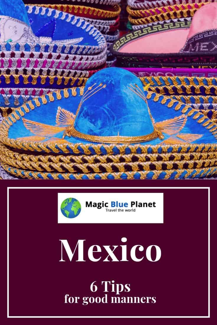 Code of conduct for Mexico - Pin 1