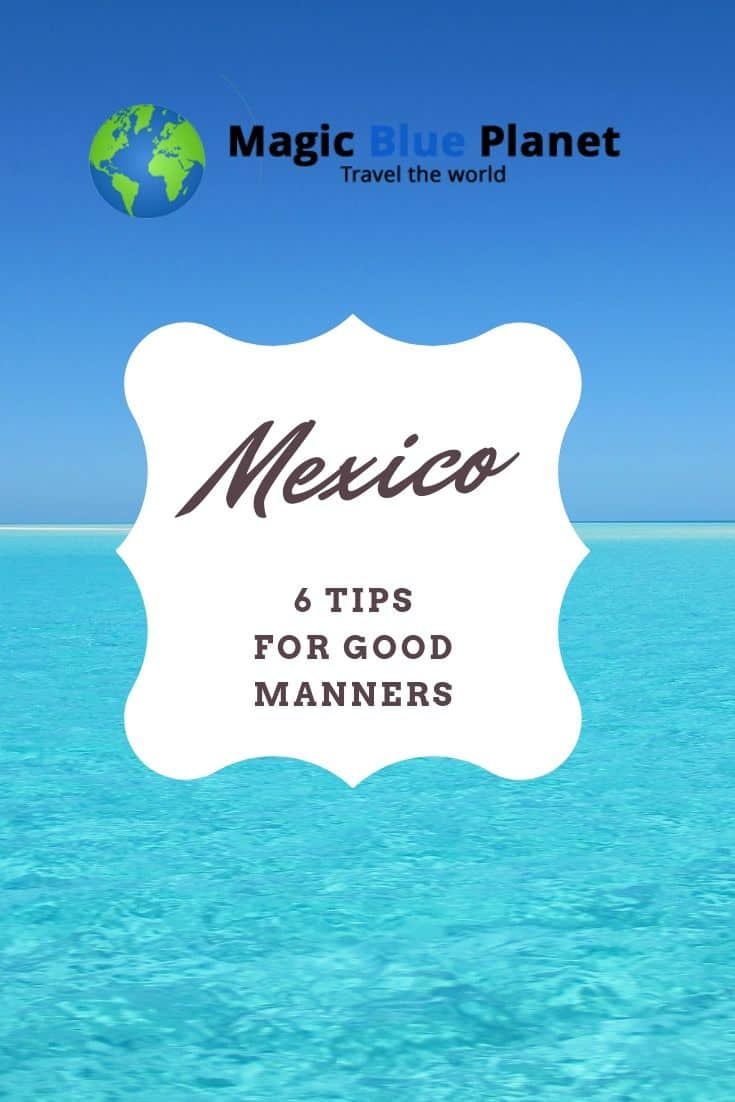 Code of conduct for Mexico - Pin 3