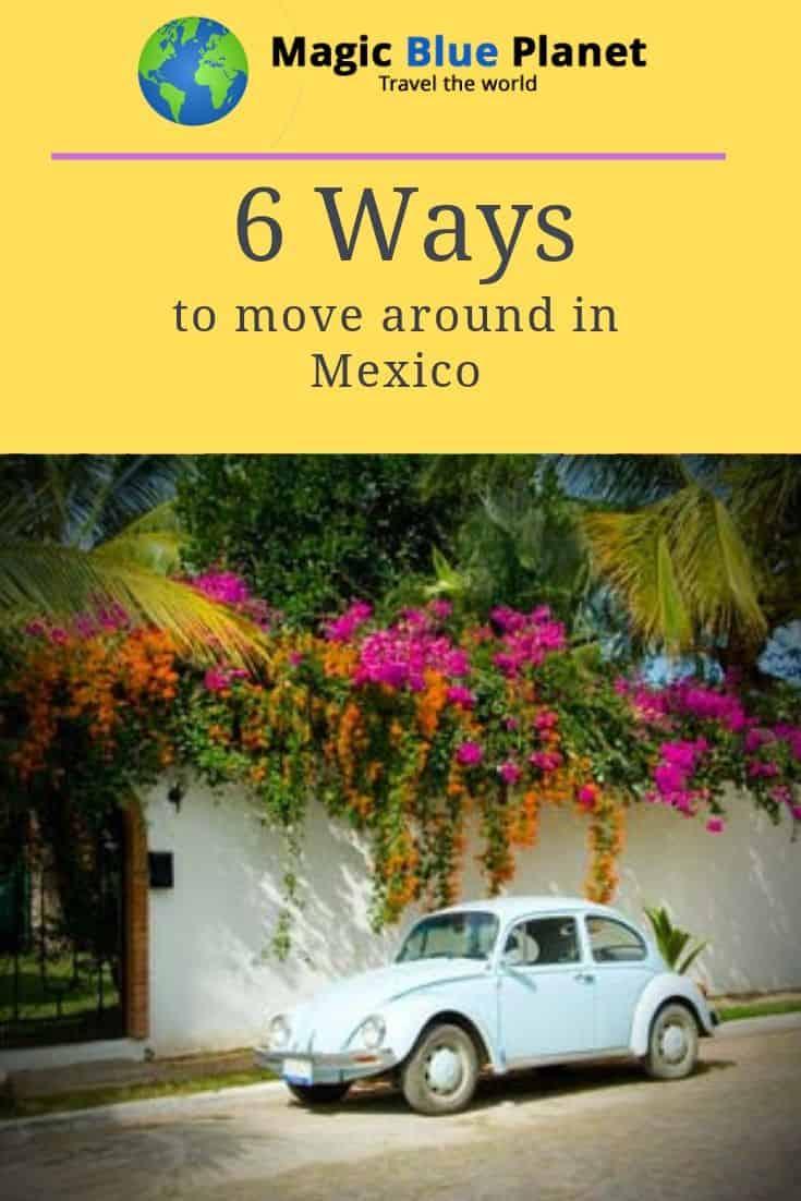 Mexico Domestic Travel Pin 3 EN
