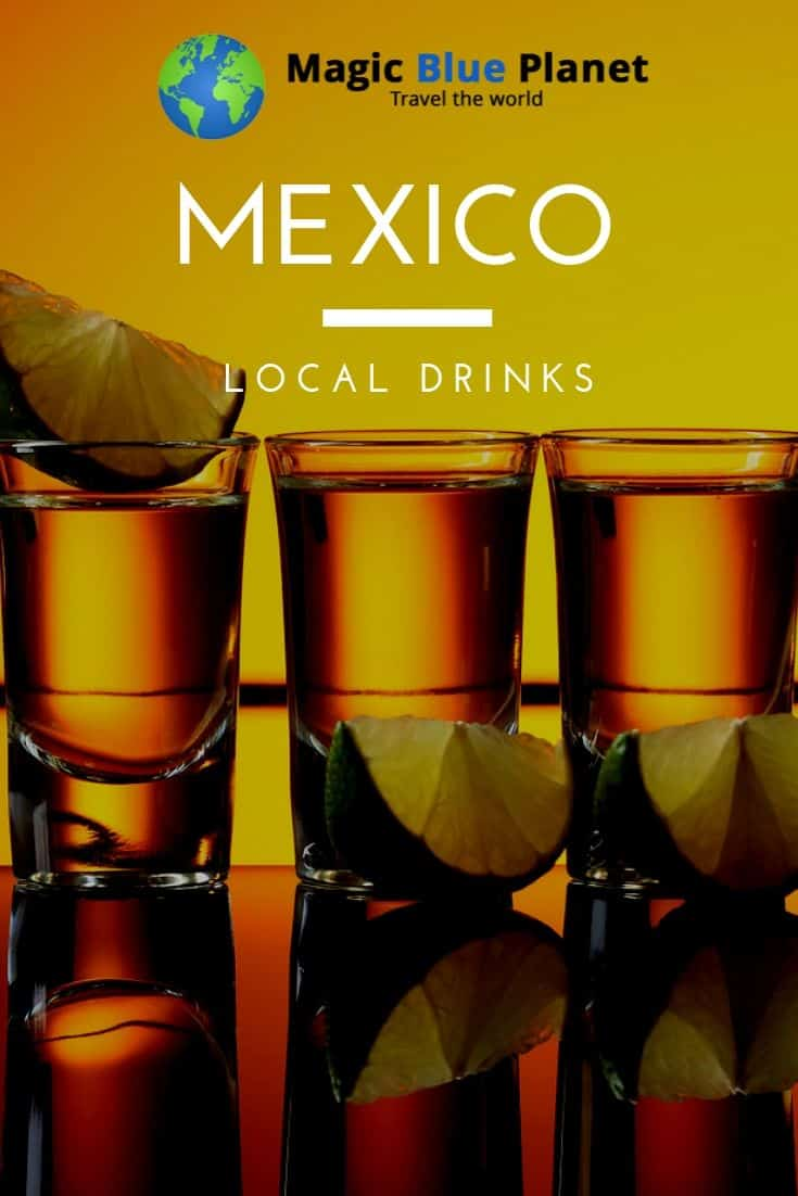 Mexican drinks - Pin 1