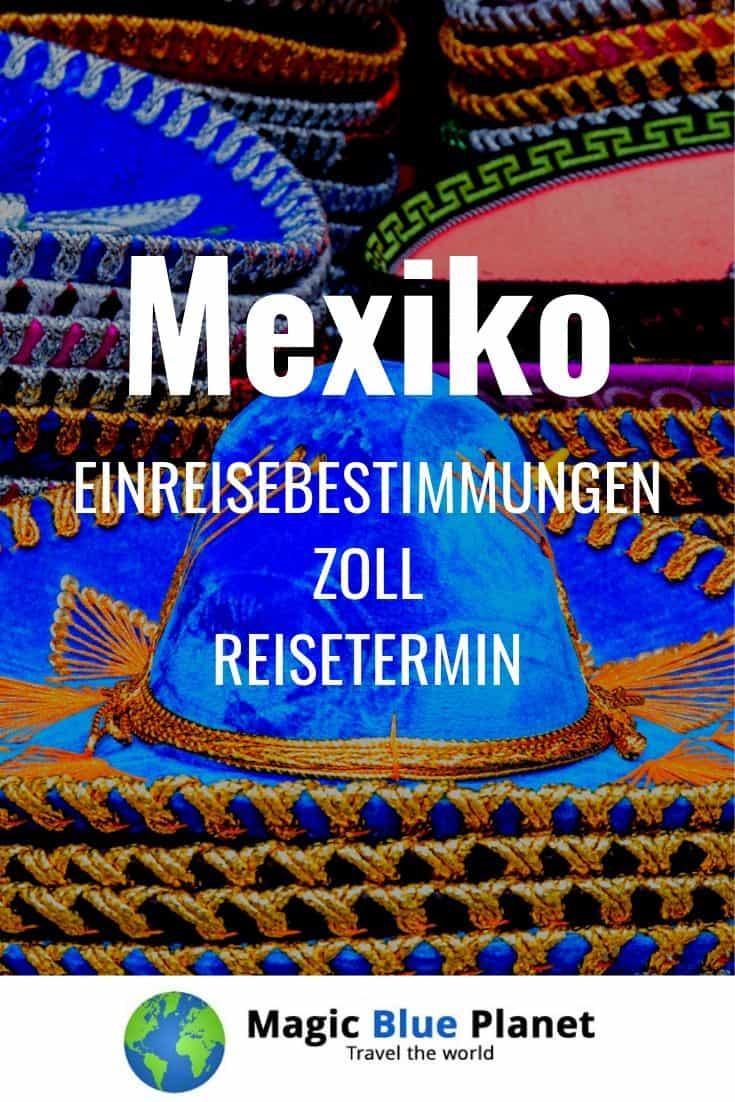 Mexiko Visum und Zoll - Pin 1