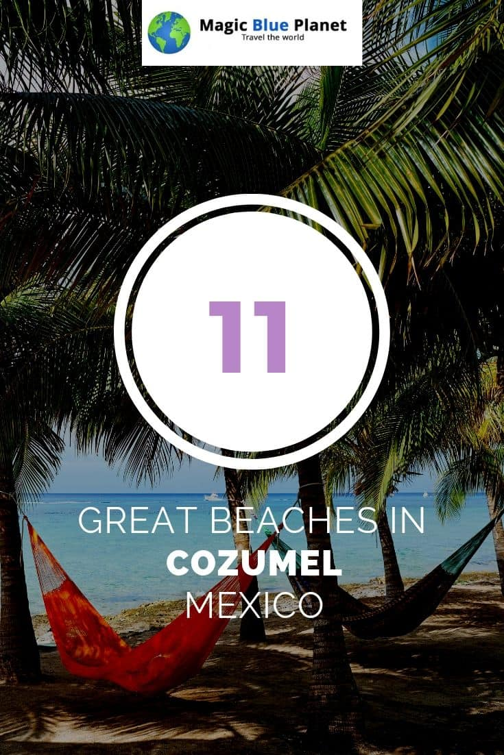 Cozumel Beaches Pin 1 EN