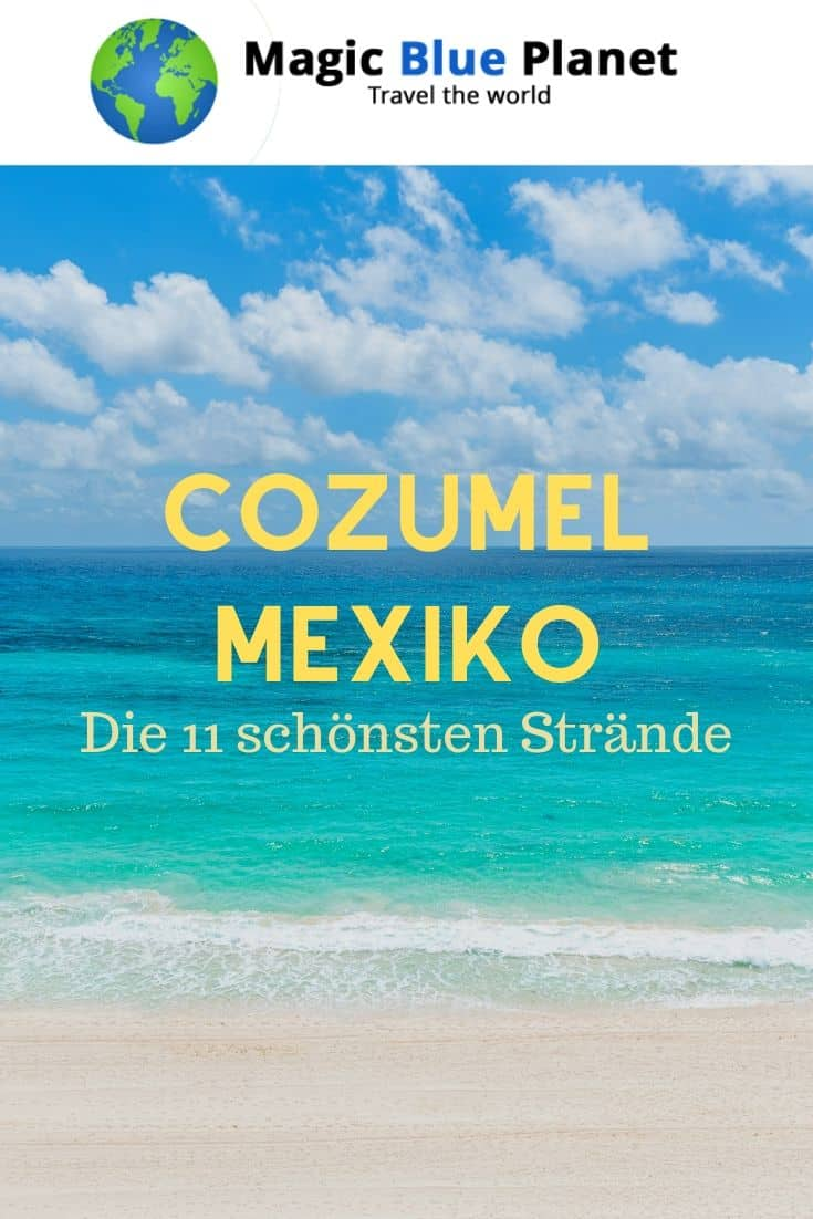 Cozumel Beaches Pin 3 DE