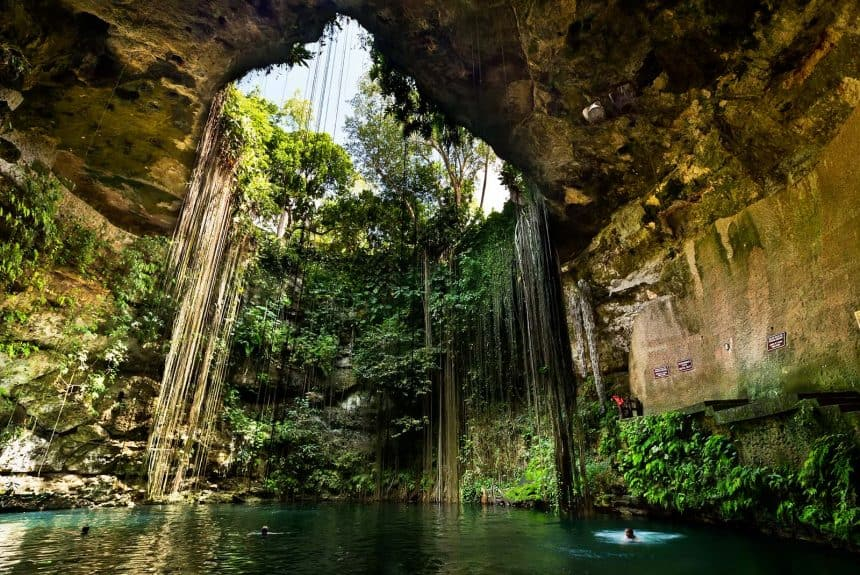 Activities in Tulum, Mexico: Swim in a cenote
