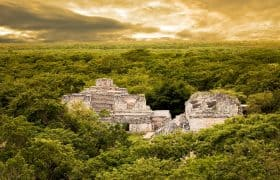 Ruinas Mayas de Ek-Balam, México