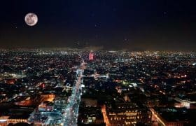 Mexico Safety: Mexico City at night