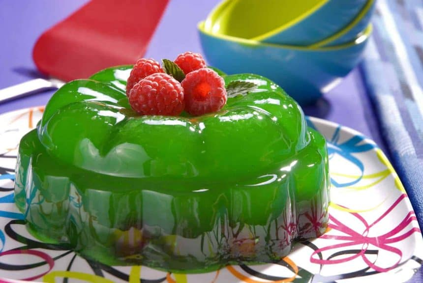 Mexican cooking: Raspberry jelly for dessert