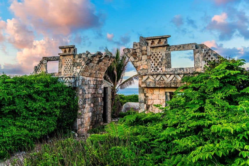 Isla Mujeres Mexico - Temple of the Mayan Goddess Ixchel