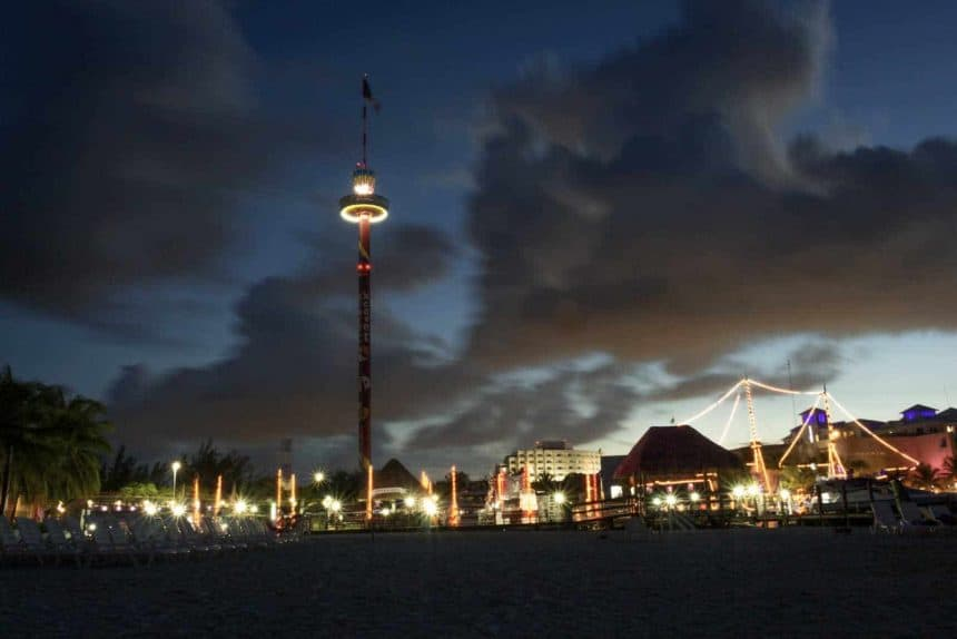 Activities in Cancun, Mexico - Visit to the scenic tower