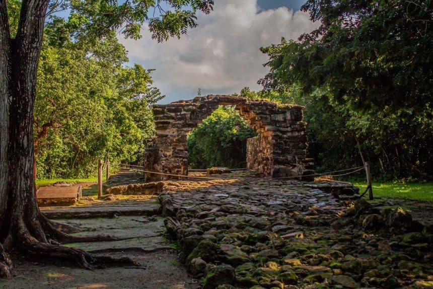 Cozumel Sehenswürdigkeiten - Maya Ruinen von San Gervasio