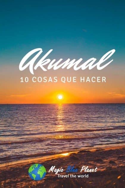 Qué hacer en Akumal, México - Pinterest Pin 3
