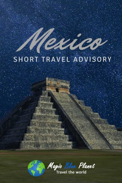 Mexico Travel Advisory Pinterest 1