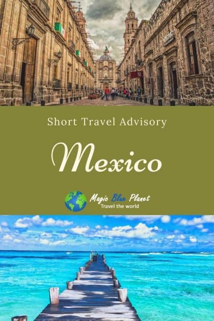 Mexico Travel Advisory Pinterest 2