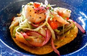 Activities in Puerto Morelos, Mexico - Try tacos with fish
