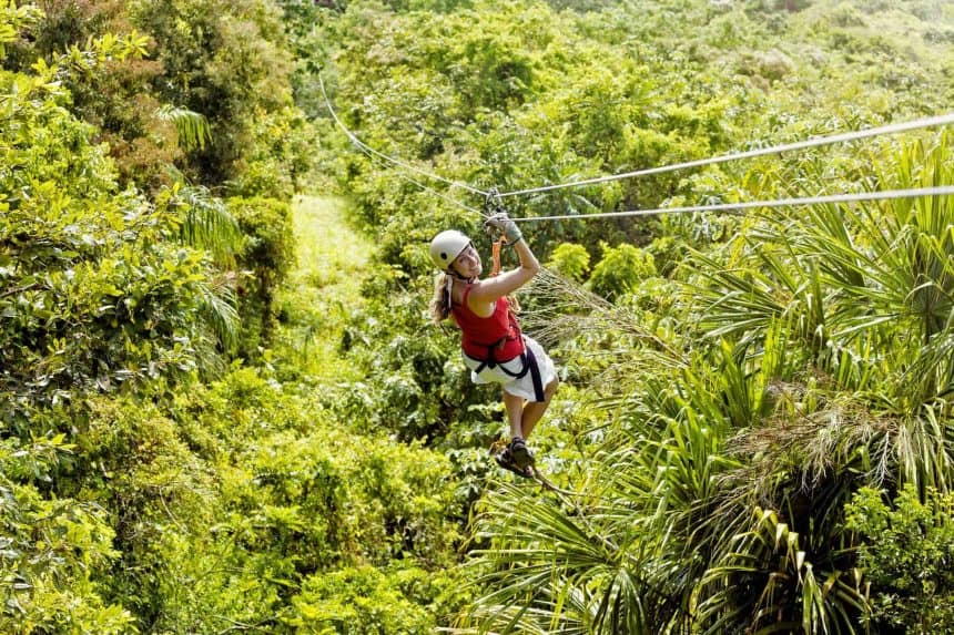 Things to do in Puerto Morelos, Mexico - Zipline in the jungle