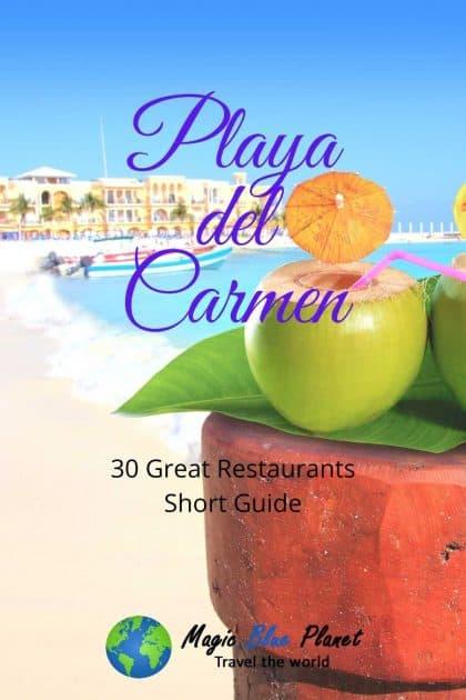 Playa del Carmen Restaurants Pinterest 1 EN