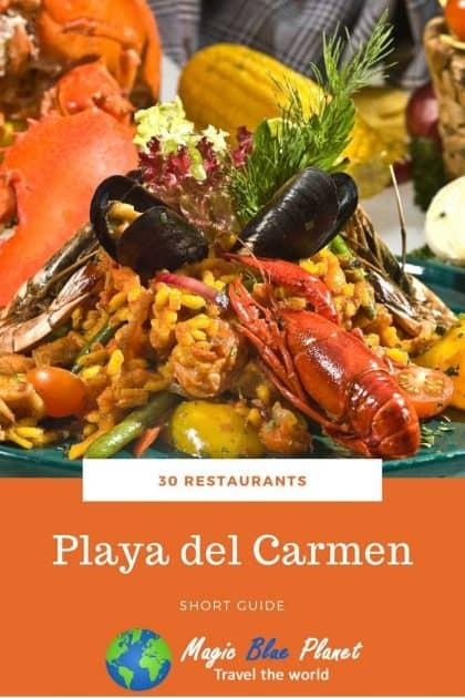 Playa del Carmen Restaurants Pinterest 3 EN