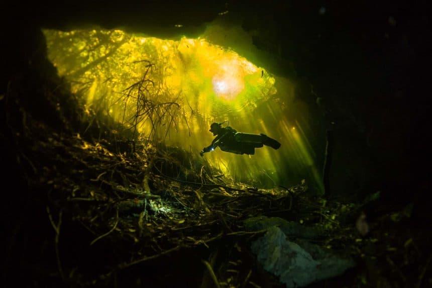 Cenote Tajma-Ha, Riviera Maya, Península de Yucatán, México