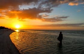 Sunset in Island Holbox