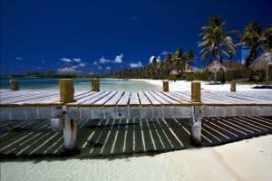 Beach of Isla Contoy, Mexico