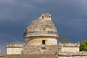 Mayan Ruins in Chichen Itza, Mexico - The Snail Tower
