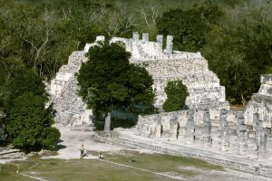 Mayan Ruins in Chichen Itza, Mexico - Temple of Tables