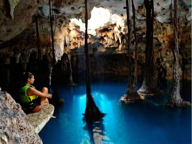 Cenotes en Cancún - Xenotes Cenote Luum